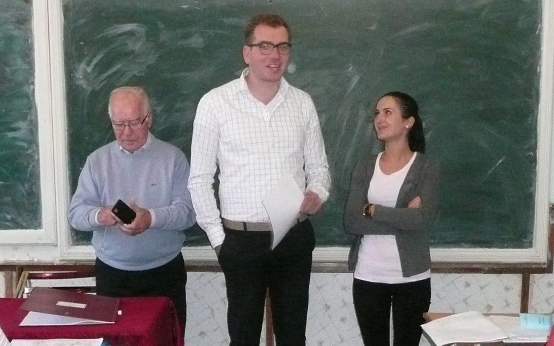 Naar Iaşi en Botoșani, op werkbezoek bij project Roemenie