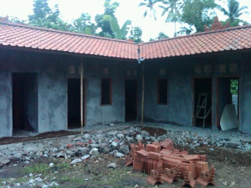 Bouw kinderhuis Bali bijna afgerond