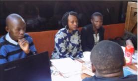 Voortgangsverslag studenten project Kenia